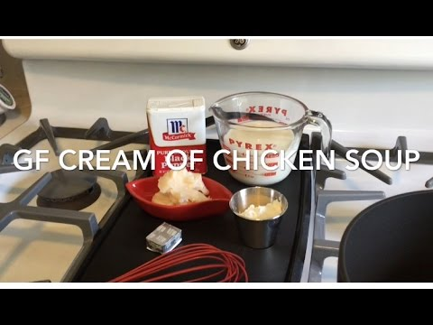 Recipe: Condensed Cream of Chicken soup GF