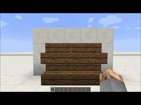 Working Shelves In Vanilla Minecraft