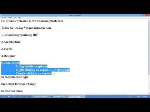 Text box vb.net introduction