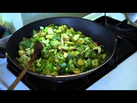 Diction's Kitchen: Pancetta & Brussel Sprouts