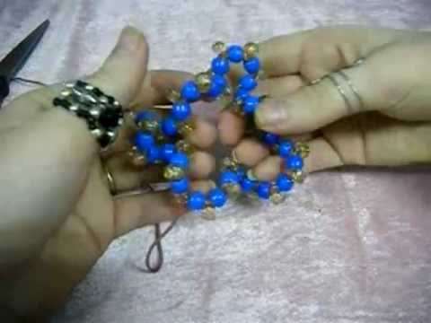 How to Make a Kandi Scrunchie - [www.gingercande.com]