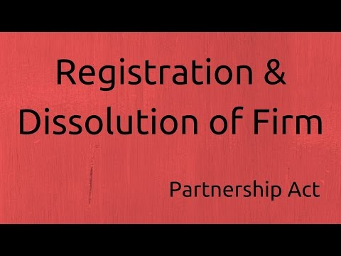 Introduction to Registration of Firm | Indian Partnership Act 1932 | CA CPT | CS & CMA Foundation