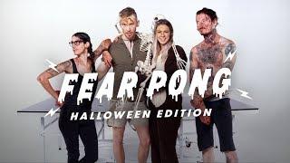 Fear Pong: Halloween (kaya & Christian Vs. Kat & Chris) | Fear Pong | Cut