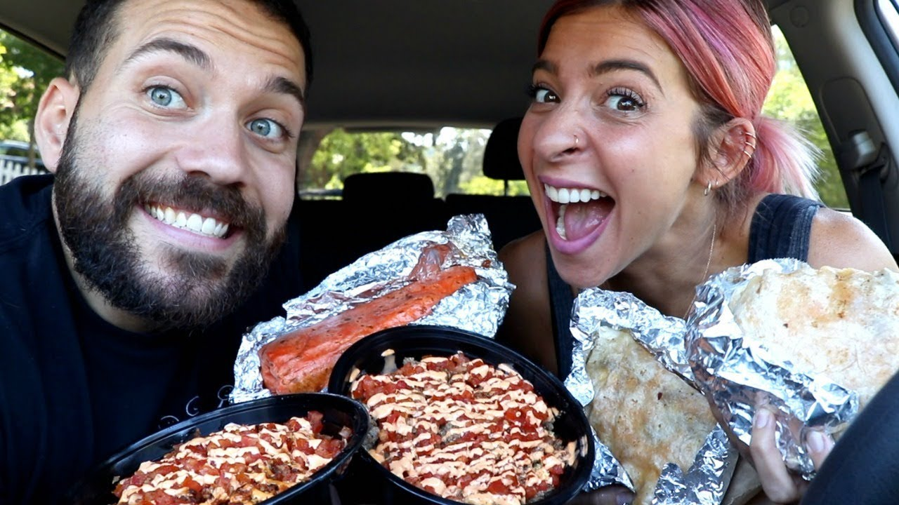 TRYING THE BEST BREAKFAST BURRITOS IN CALIFORNIA with GABBIE HANNA!!