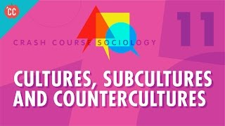Cultures, Subcultures, and Countercultures: Crash Course Sociology #11