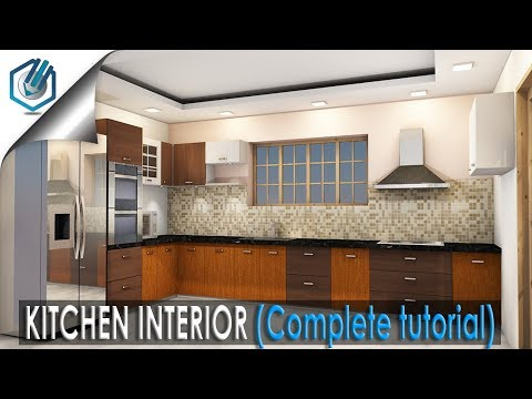 how to make kitchen interior (complete Tutorial)