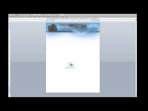 How to make a microsoft word template in mac