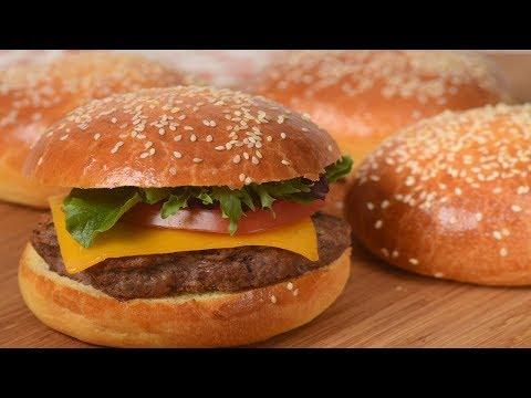 Brioche Hamburger Buns Recipe Demonstration - Joyofbaking.com