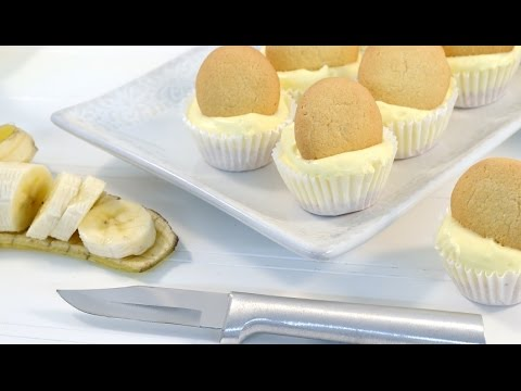 Mini Banana Cream Pie Cheesecake - No Bake Cheesecake Recipe | RadaCutlery.com