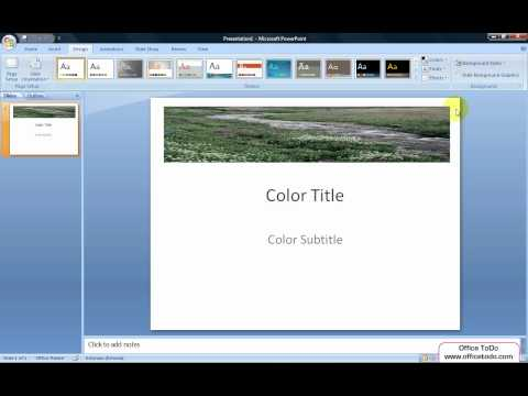 Powerpoint | How do I convert an existing PowerPoint presentation to black and white?