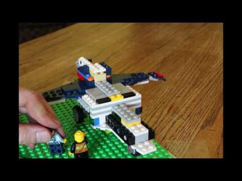 Lego Chopper Build