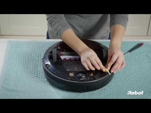 Roomba® 800 Series Side Brush Care