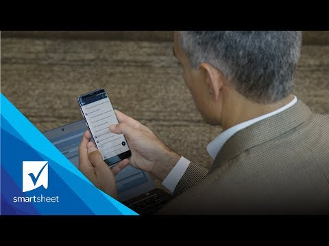 Keep Work Moving with Smartsheet Mobile for Android