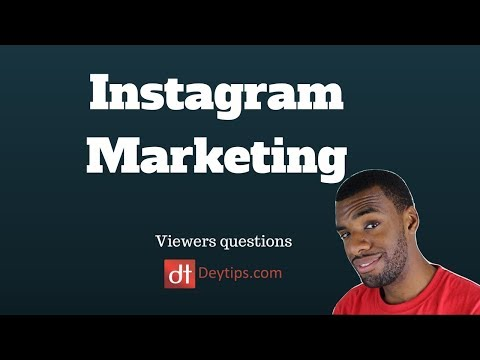 Viewers Questions: Instagram Marketing and Banner advertisements