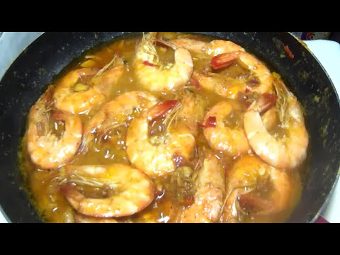 Everyday Cooking - How to Cook Spicy Buttered Garlic Shrimp (Gambas)