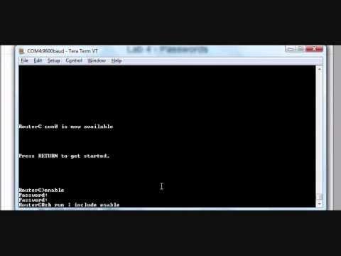 Lab 4 - Configuring Passwords