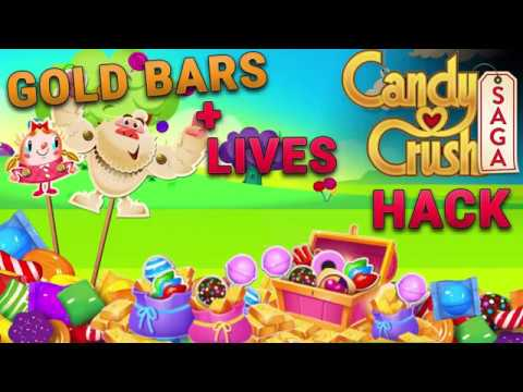Candy Crush Saga Hack 2018 - Candy Crush Saga Gold Bars and Lives Hack iOS / Android