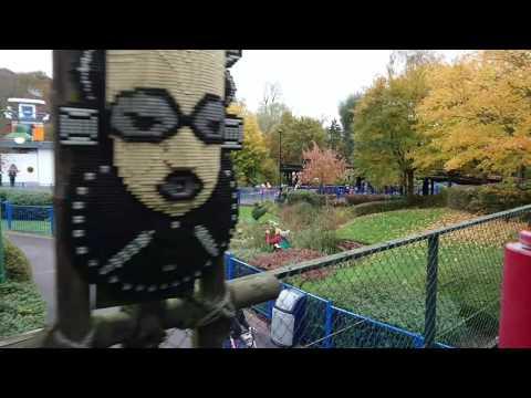 Heartlake City Express Train Ride POV At Legoland, Windsor, 5 November 2016