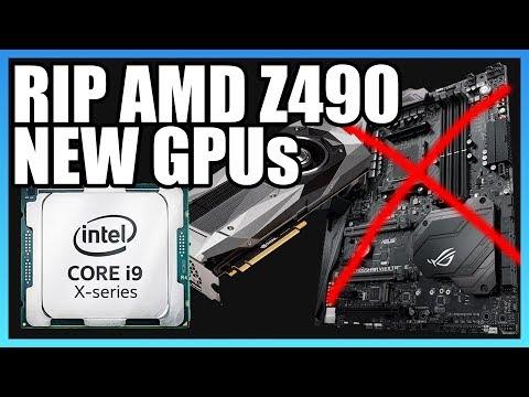 HW News: AMD Kills Z490 Platform, Intel 28-Core CPU, & GPUs