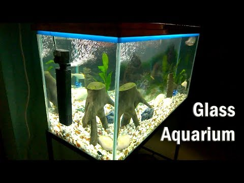 Making Aquarium using Glass - DIY