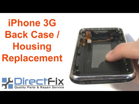 How To: iPhone 3G Back Case / Housing Replacement