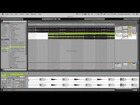 Ableton 9 Tutorial: Dj Mixes Pt.1