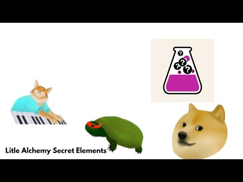 Secret Elements in Little Alchemy