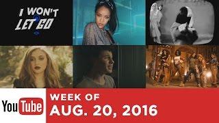 Top 10 Songs - Week Of August 20, 2016 (YouTube)