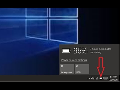 How to Fix Battery Icon Not Showing in Taskbar (Windows 10/8.1/7)