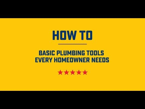 How To | Basic Plumbing Tools Every Homeowner Needs | Roto-Rooter