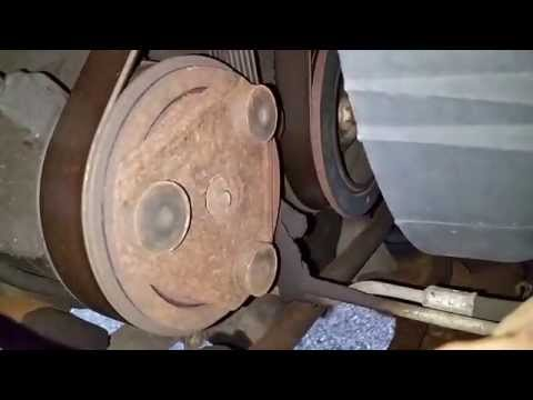 A/C Compressor Pulley Bearing Replacement