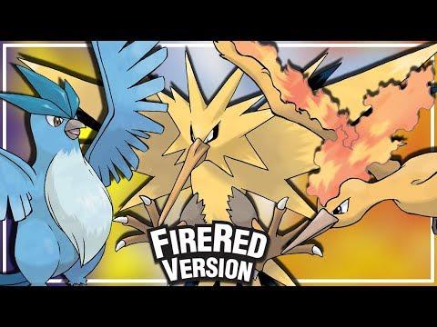 Pokémon FireRed- Como capturar Articuno,Zapdos e Moltres