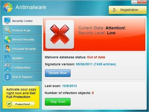 How do I get rid of Antimalware Virus ?(Removal guide)