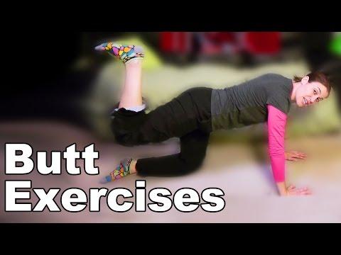 Butt Exercises (Gluteus Maximus) - Ask Doctor Jo
