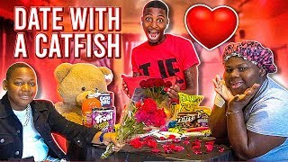 Tory Had A DATE With The CATFISH! (DID NOT END WELL)