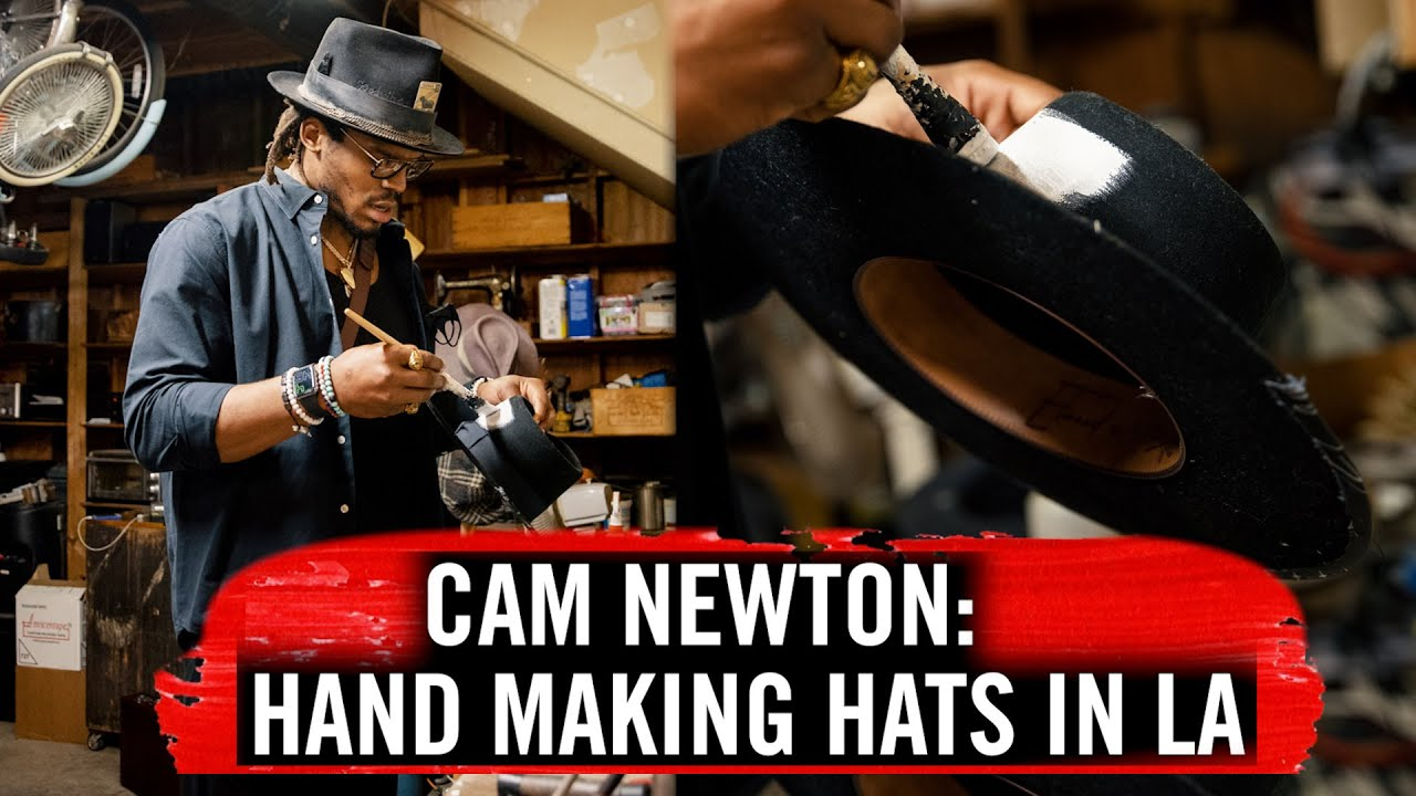My 1st Hat Collection With Meshika | Cam Newton Vlogs
