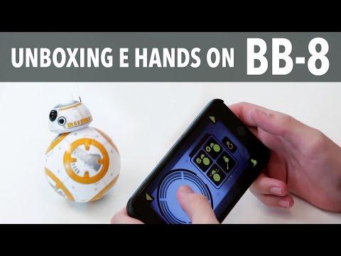 SPHERO BB8 DO STAR WARS! UNBOXING E HANDS ON
