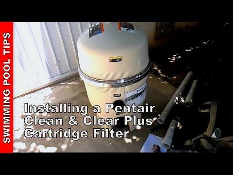 Installing a Pentair Cartridge Filter (Clean & Clear Plus).wmv