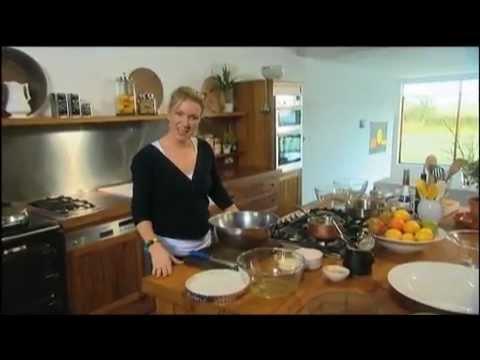 Rachel Allen No-Pastry Pear and Almond Tart