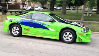 The Fast and The Furious Mitsubishi Eclipse Paul Walker for Sale