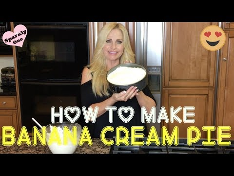 How to Make the BEST Banana Cream Pie EVER!! So EASY & YUMMY!! 😋