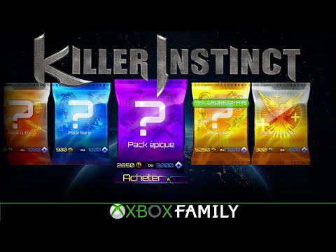 Killer Instinct : Shadow Lords Mode - Booster Pack Unboxing (FR) | Xbox Family