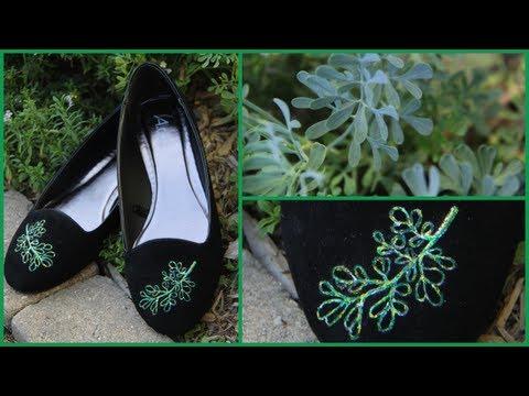 DIY Embellished Shoes ✄