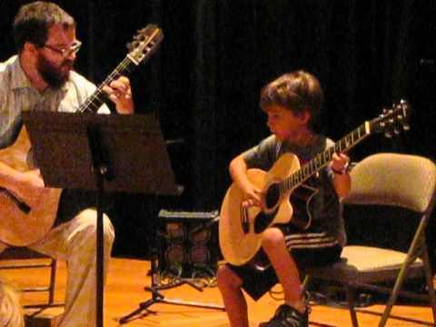 First Guitar Recital