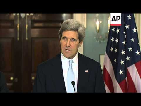 Kerry says US weighing Syria options to bring an end to civil war