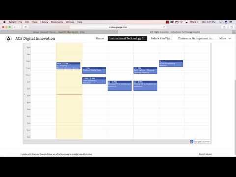 Subscribe to a Google Calendar