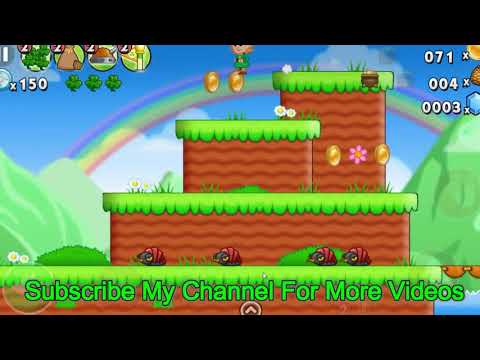 Lep's World 1   Area 13 Walkthrough  All gold pots collected Games for girls  games for Kids