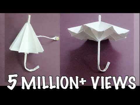 Origami Umbrella : That Open and Closes (new)
