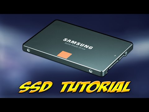 How to install an SSD + Windows 10 SSD Optimization [Tutorial/Guide]
