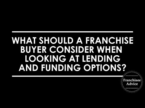 Finding the right lender before you buy a franchise